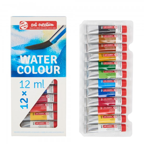 AquarellfarbenSet ArtCreation | 12 Tuben