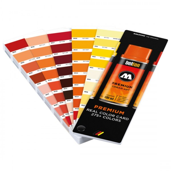 Premium 275+ REAL COLOR CHART-Image