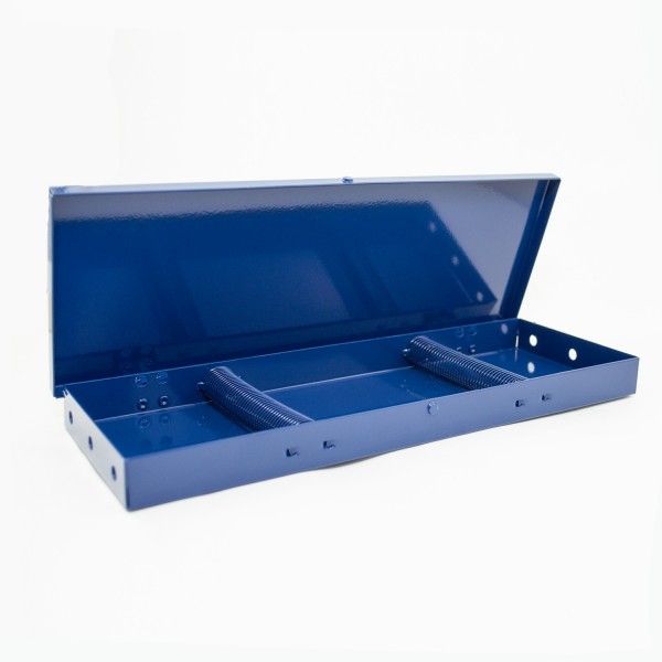 Pinsel Box, blau | Aluminium Box, blue