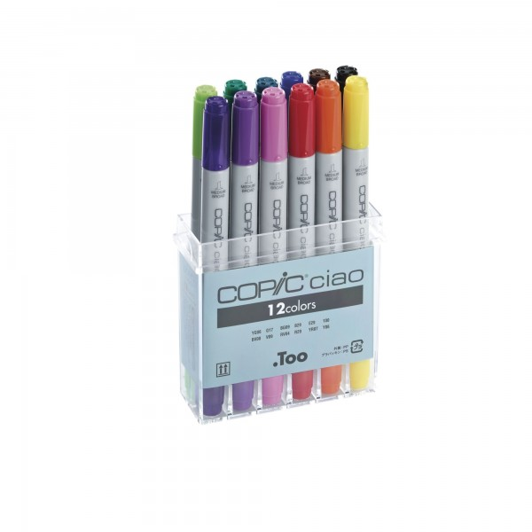 12er Set | COPIC ciao Marker