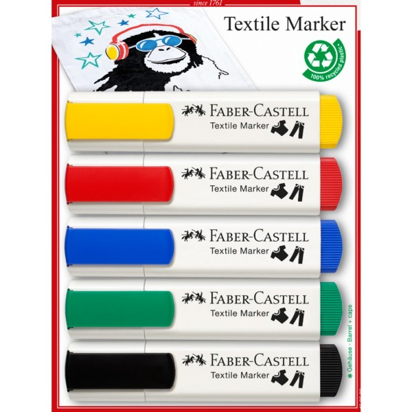 Textil Marker Set | Basis Töne